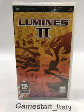 LUMINES 2 II SONY PSP - VIDEOGIOCO NUOVO SIGILLATO PRIMA STAMPA NEW PAL