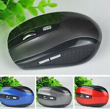 Wireless Optical Mini USB Mouse Mice 1600Cpi  Laptop PC Computer NEW AU