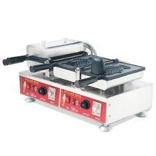 Vi 220V Commercial Electric Ice Cream Taiyaki Maker Waffle Iron Baker Machine