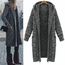Cotton Blend Knee Length Casual Coats & Jackets for Women