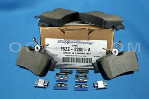 BRAND NEW OEM REAR BRAKE PADS  FORD MUSTANG GT AND BASE 1994-2004 #F5ZZ-2200-A