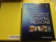 EU 366 N. 2 VOLUMI PATHY S PRINCIPLES AND PRACTICE OF GERIATRIC MEDICINE