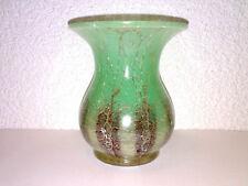 Glas Vase Glasvase WMF IKORA Art Deco Grün - Braun Hersteller: WMF H: 13 cm