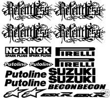Sticker set - Suzuki Relentless GSXR track bike