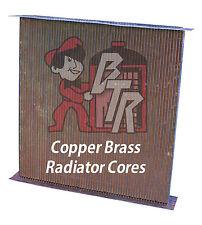 Peterbilt 379, 357,375,378 model Copper Radiator core 4 row version