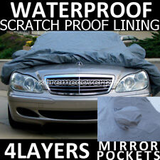 2011 MERCEDES-BENZ S550 4LAYERS WATERPROOF CAR COVER w/MirrorPo
