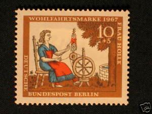 Berlin Nr. 310 ** mit Plattenfehler 310 f21.............................#