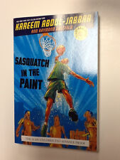 SIGNED  Kareem Abdul-Jabbar  Sasquatch In The Paint  UNCORRECTED ADVANCE PROOF