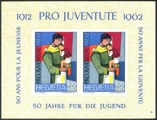 Switzerland 1962 Pro Juventute Welfare Fund 50th/Mother/Child imperf m/s n43347