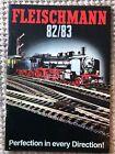 Fleischmann Model Train Catalog 1982/83