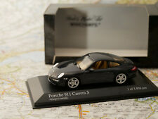 MINICHAMPS PORSCHE 911 CARRERA S 2004 GRAY ART.400063021 NEW DIE-CAST