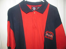 a7d867ccbed11 Vintage Atlanta Braves polo shirt - Iron Knights Adult Large