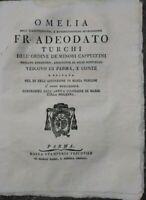 1789 ADEODATO TURCHI OMELIA SU DIFFERENZA TRA DEVOZIONE MARIANA ANTICA E MODERNA