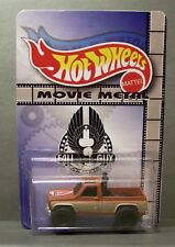 """Custom HotWheels GMC truck and package of  """"Movie Metal""""  from the FALL GUY"""