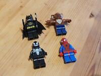 GENUINE LEGO Batman & Man Bat Venom Spiderman Minifigure Mini Figure 76004