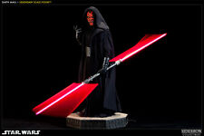 SIDESHOW STAR WARS SITH LORD DARTH MAUL LEGENDARY 1/2 SCALE FIGURE STATUE MINT