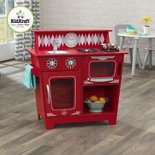 Kidkraft Classic Kitchenette Red, wooden kitchens, play kitchens