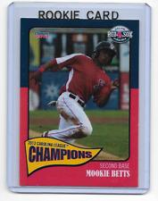 Mookie Betts 2013 Choice Marketing Salem Red Sox Rookie Card #15  qty