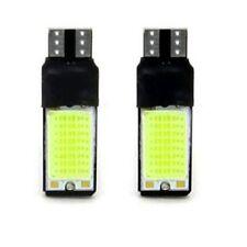2 X T10 W5W 194 168 No Error COB Canbus Side Lamp Wedge White Light Bulb 6W LED