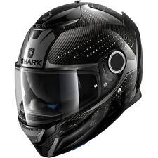 Shark Spartan Cliff Carbon Fibre / Anthracite Motorcycle Helmet XLarge 61-62 cm