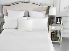 500TC Egyptian Cotton Sheet Set Fitted Flat Pcs Queen King Double KSB Single