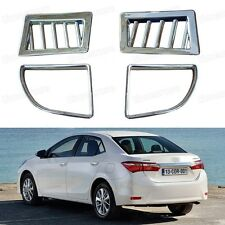 4pcs Chrome Car Internal Air Condition Vent Cover Trim for Toyota Corolla 2014