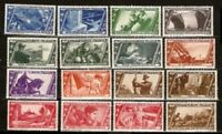 Italy Sc 290 to 305 MINT NH   VF