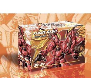 Jinbao DF-07 Flame Devil Transmetal Mega.tron Action Figure