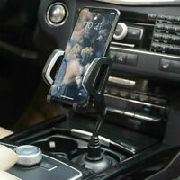 Universal Adjustable Car Mount Flexiable Cup Holder Cradle for Cell Phone Top