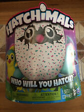 NEW Pengualas Hatchimals Pink/Teal Interactive Hatching egg SHIPS
