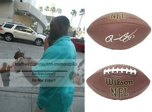 Ronnie Brown Dolphins Signed NFL Football Chargers Auburn Proof of Autograph COA
