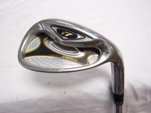Used RH TaylorMade r7 Sand S Wedge TaylorMade Steel Shaft S Flex Golf Pride Grip