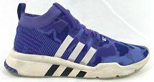 Adidas EQT Support Mid ADV PK Mens B37457 Purple Camo Primeknit Shoes Size 10