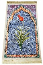 Ebruli prayer rug 2 seccade islam mosque special production excellent in qualit