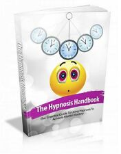 Set of Three ( 3 ) Hypnosis  - E books - PDFs - How To Do It Yourself - Success