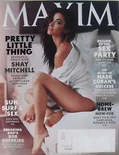 SHAY MITCHELL February 2015 MAXIM Magazine MARK CUBAN / BOB ODENKIRK