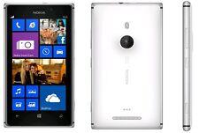 """Nokia Lumia 925 16GB (Débloqué) 4.5 """" 8mp Smartphone Blanc Excellent État"""