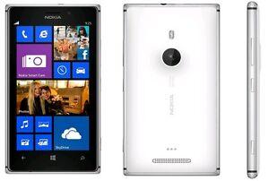 "Nokia Lumia 925 16GB (Unlocked) 4.5"" 8MP Smartphone- White*Excellent Condition*"