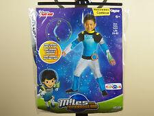 Miles From Tomorrowland Halloween Costume Disney Junior Jr Size 3T-4T, 4-6 *New*
