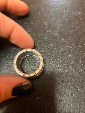 Bulgari Bvlgari B Zero Bzero Anello Ring Oro Bianco  White Gold 60 20