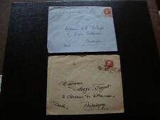 FRANCE - 2 enveloppes 1943 (cy53) french