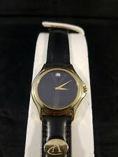 Movado Mens 18k Gold Plated Watch
