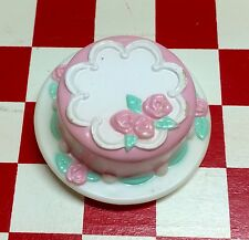 VTG Fake PLAY Food MINI Party Cake Dessert Snack Sweets 3D Fridge MAGNET