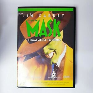 The Mask Movie DVD Region 4 AUS Free Postage - Comedy