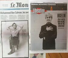Le Monde + Libération /// Spécial Jacques HIGELIN ///