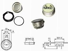 Taster Klingeltaster Vandalensicher D: 19mm  Metallic 48VDC 125mA IP65 1 Stück