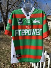 AUSTRALIA Rabbitohs Rugby JERSEY EXCELLENT Size Small Photos For Measurements