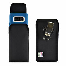 Turtleback Galaxy Note 8 Vertical Nylon Holster for Otterbox DEFENDER Metal Clip