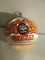 1982 Ringling Bros And Barnum &Bailey Circus Christmas Ball Ornament