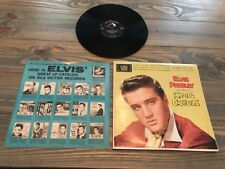 SUPER RARE ELVIS PRESLEY KING CREOLE RECORD LPM-1884 MONO VERSION SHIPS QUICK!